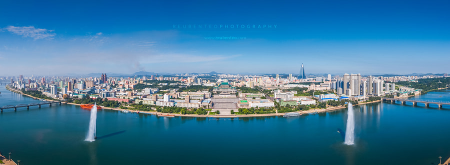 Photograph The City of Pyongyang by Reuben Teo on 500px