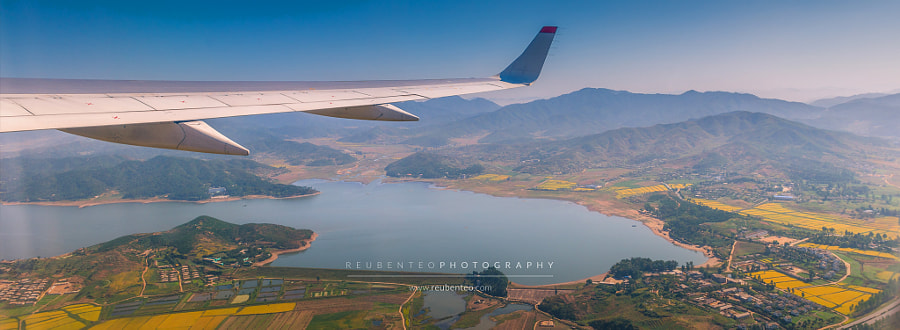 Photograph Aerial view of North Korea by Reuben Teo on 500px