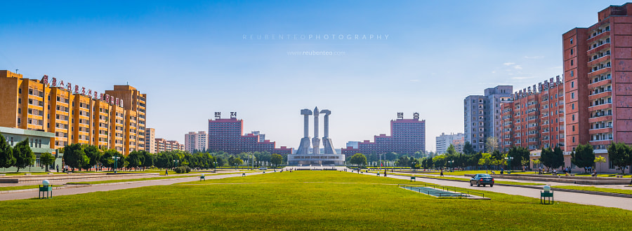 Photograph Monument to Party Founding by Reuben Teo on 500px