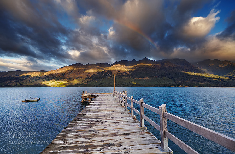 Wakatipu Lake, New Zealand by muha0445