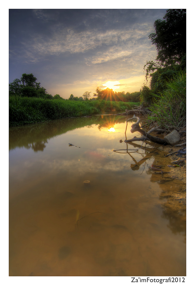 Photograph Shallow river by Za'im Hassan on 500px