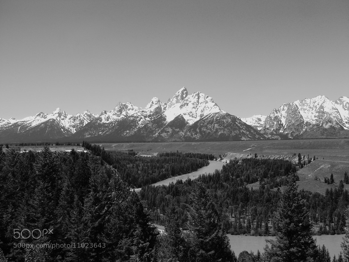 Photograph Tetons by Darin Wallentine on 500px