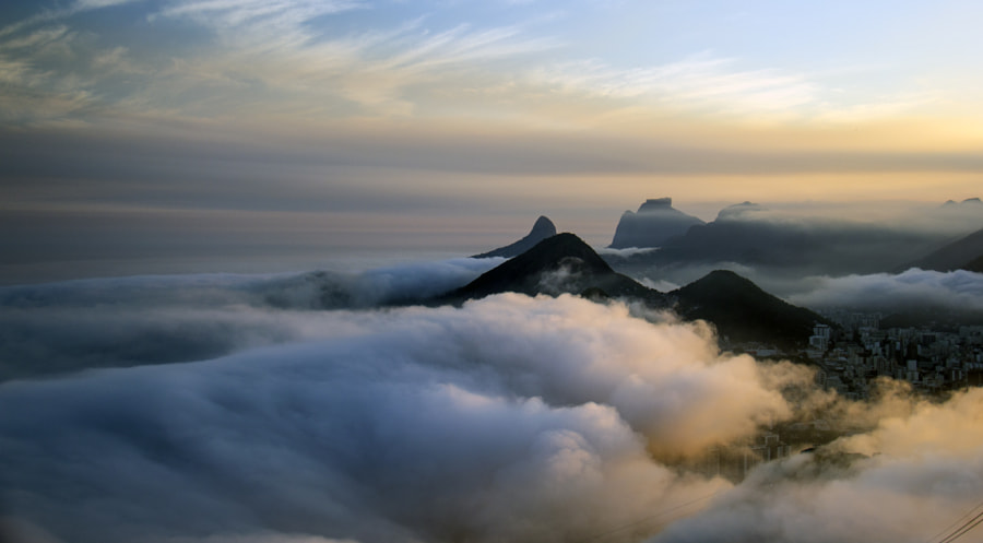 Walking on the clouds. by João Bispo Aragão on 500px.com