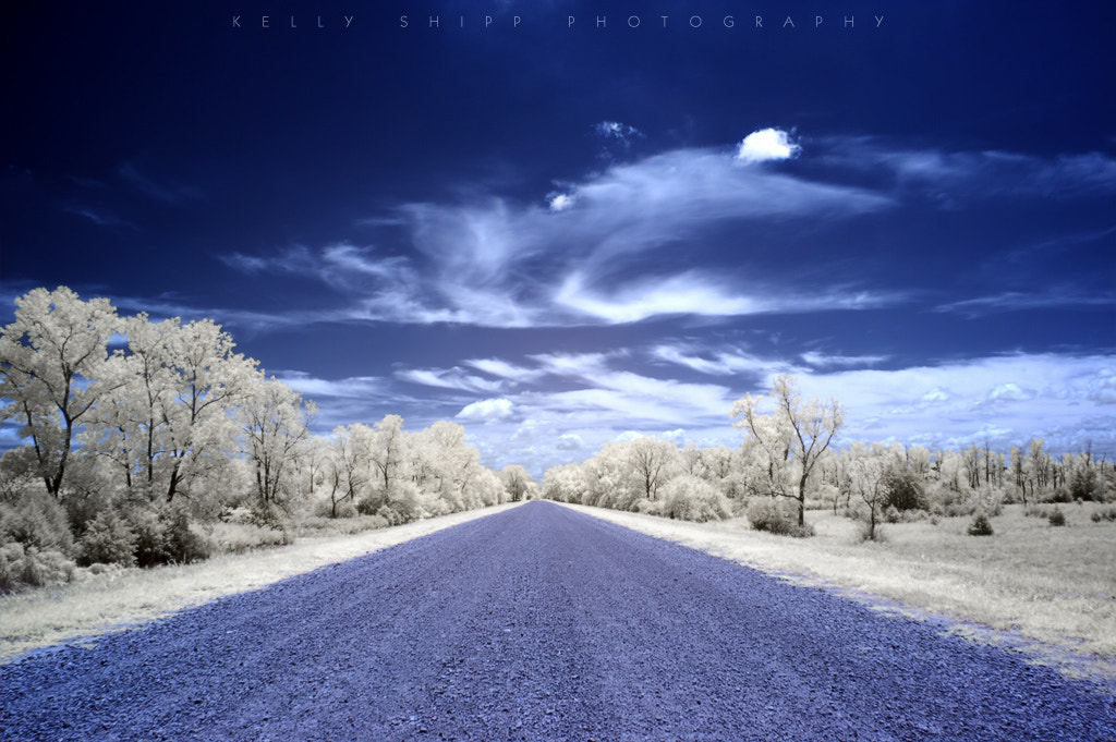 Photograph Endless Gravel Road by Kelly Shipp on 500px