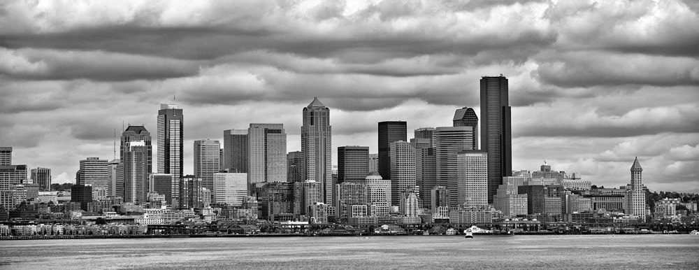Photograph Seattle Clouds by Mike Hagen on 500px