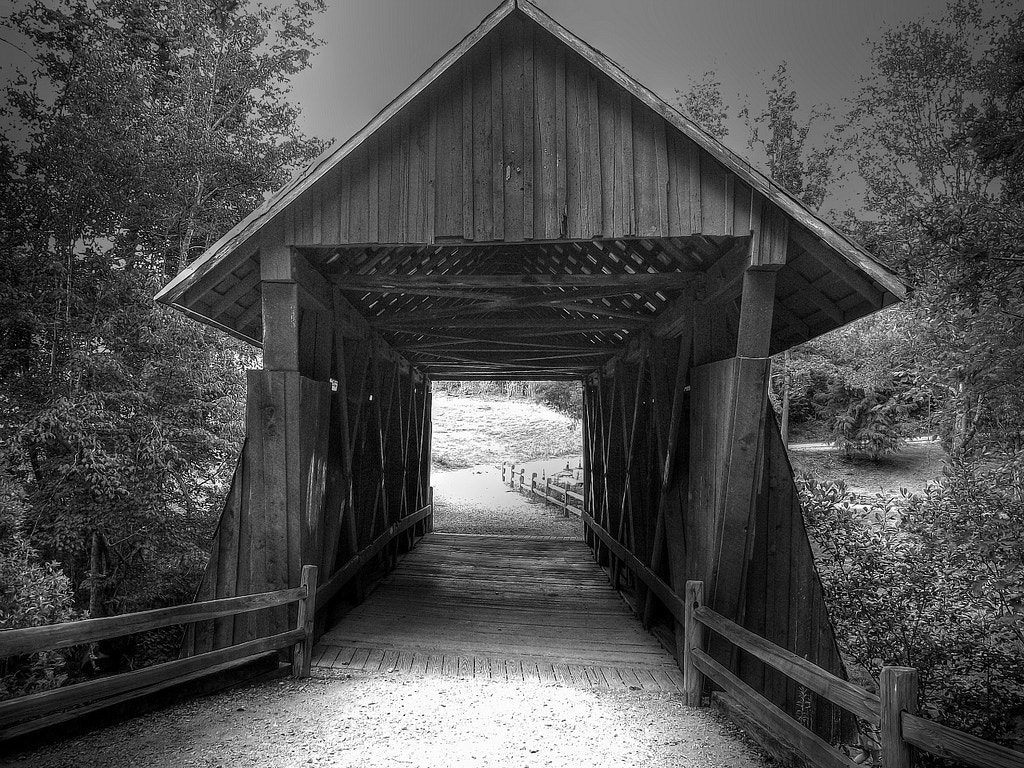 Photograph Campbell's Covered Bridge by Brian Matthews on 500px