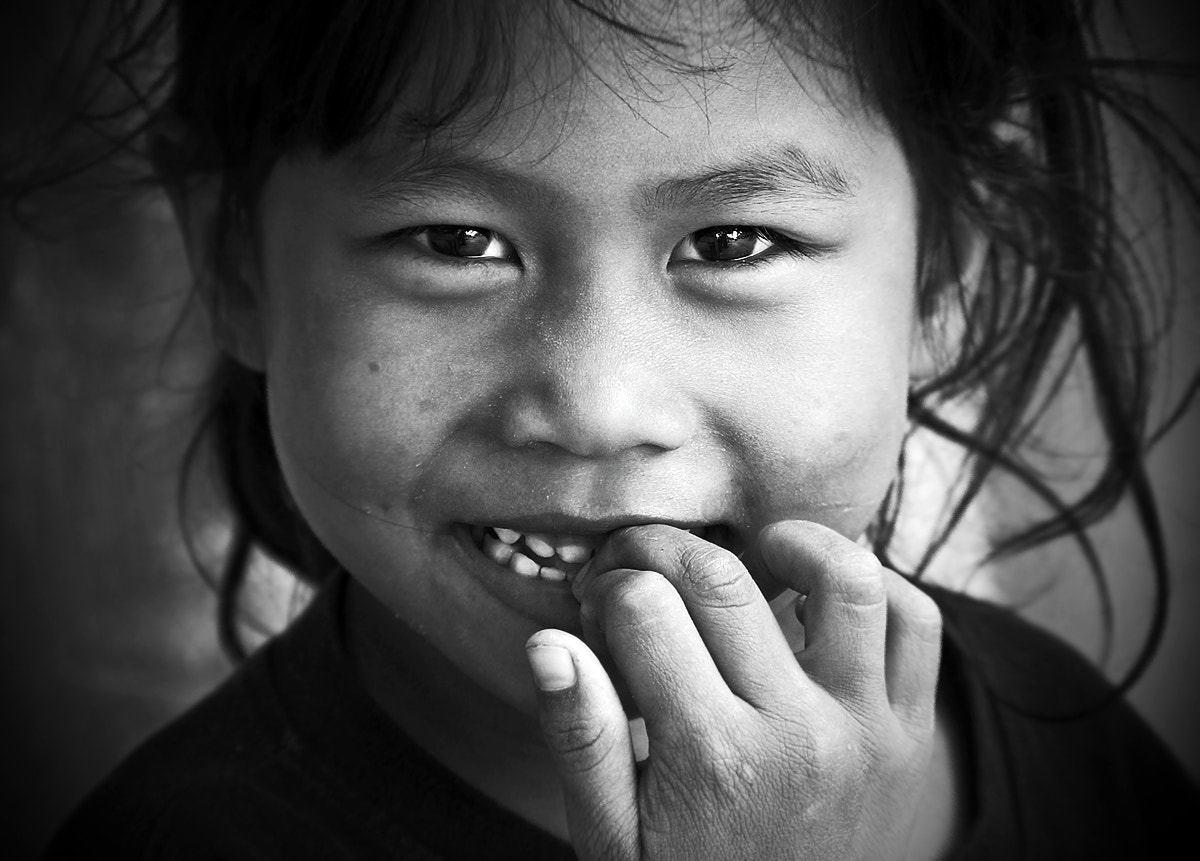 Photograph Shy smile by Gregor Štumberger on 500px