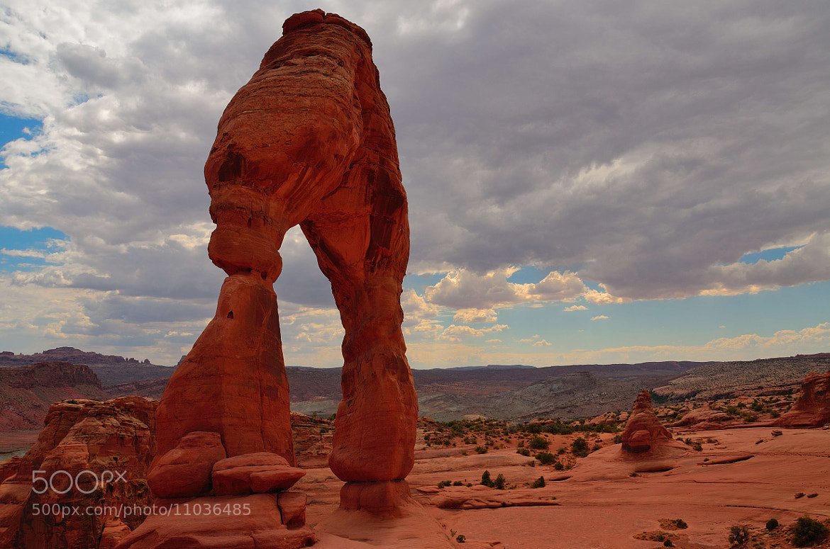 Photograph Delicate Arch, Arches National Park by Usman Shami on 500px