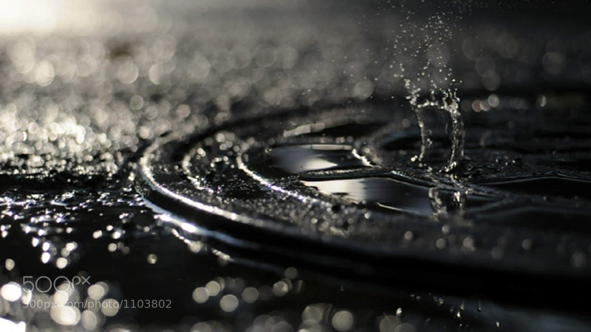 Photograph One Drop by Tyler Card on 500px