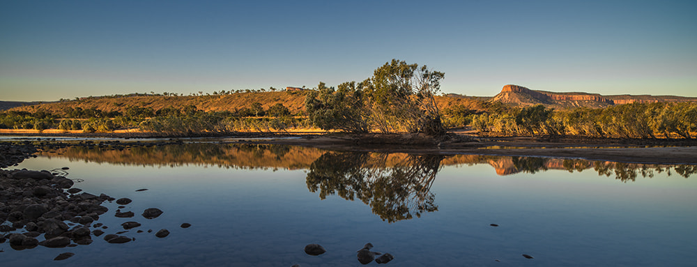 Photograph Pentecost River - Late Afternoon Sun by Ray Gruchy on 500px