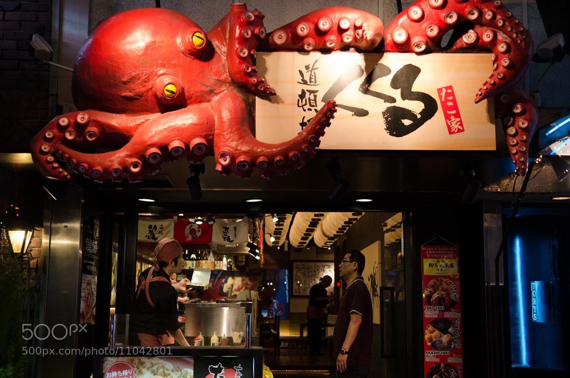 Photograph Octopus Balls, Dotonbori, Osaka by Alan Chan on 500px