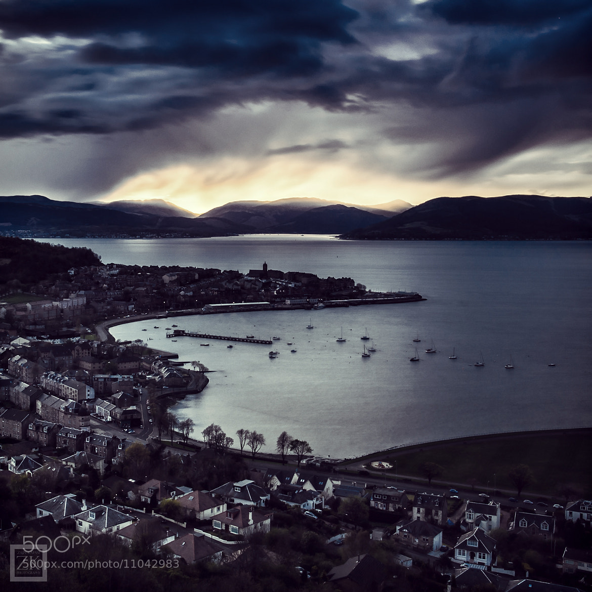 Photograph Storm over Gourock by Zain Kapasi on 500px