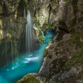 Soca River, Slovenia, by Klempa  (kramoves)) on 500px.com