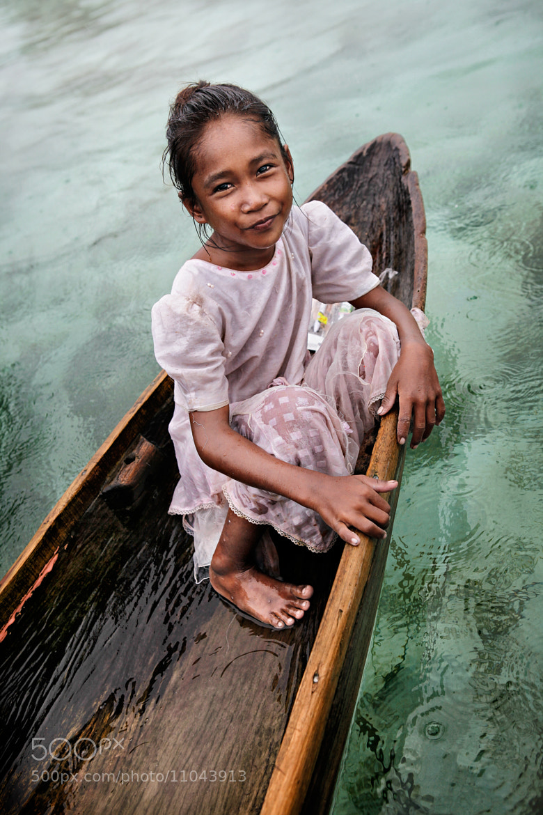 Photograph sea bajau little lady by Lau Yew Hung on 500px