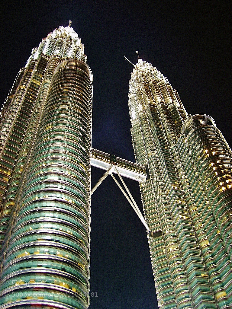 Photograph Petronas towers hand held Night Shot. by Ravi S R on 500px