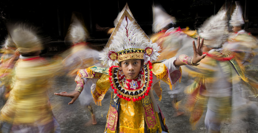 Bali's Baris Dance - The Way of The Warrior by Thomas Tham on 500px.com
