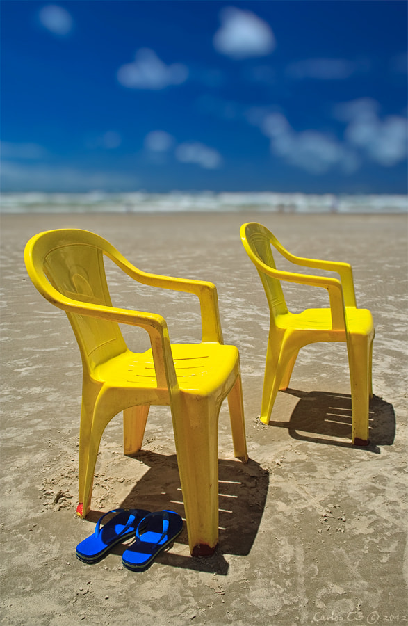 Photograph the yellow chairs by Carlos CB on 500px