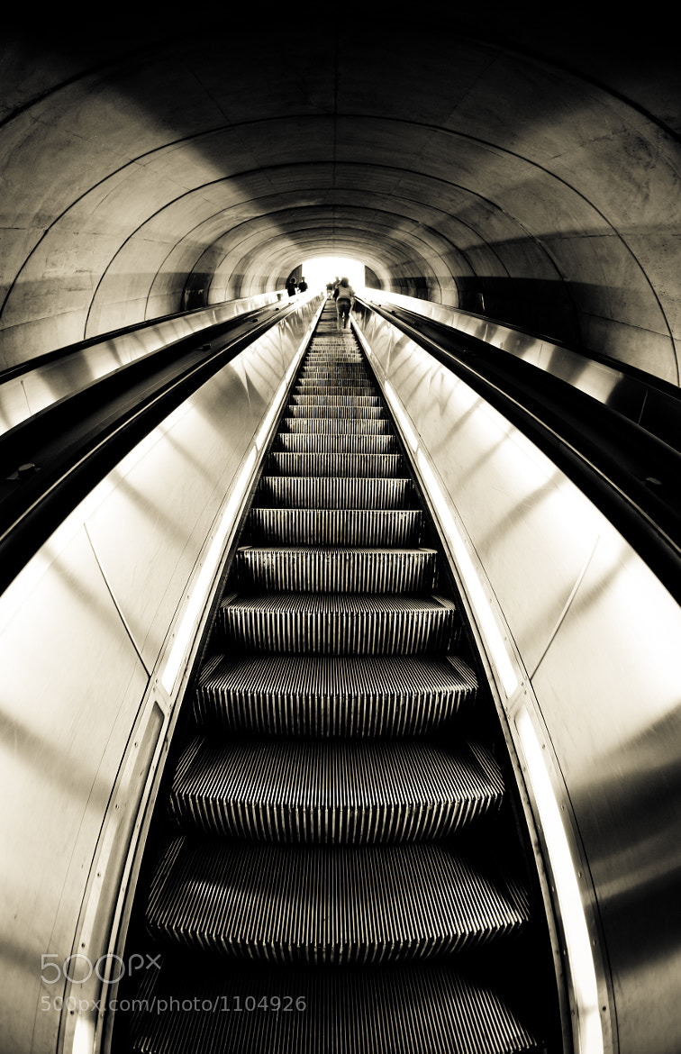 Photograph DuPont Metro Station by Rich Williams on 500px