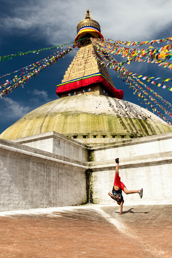 Street dancing in Nepal by Gil Kreslavsky on 500px.com