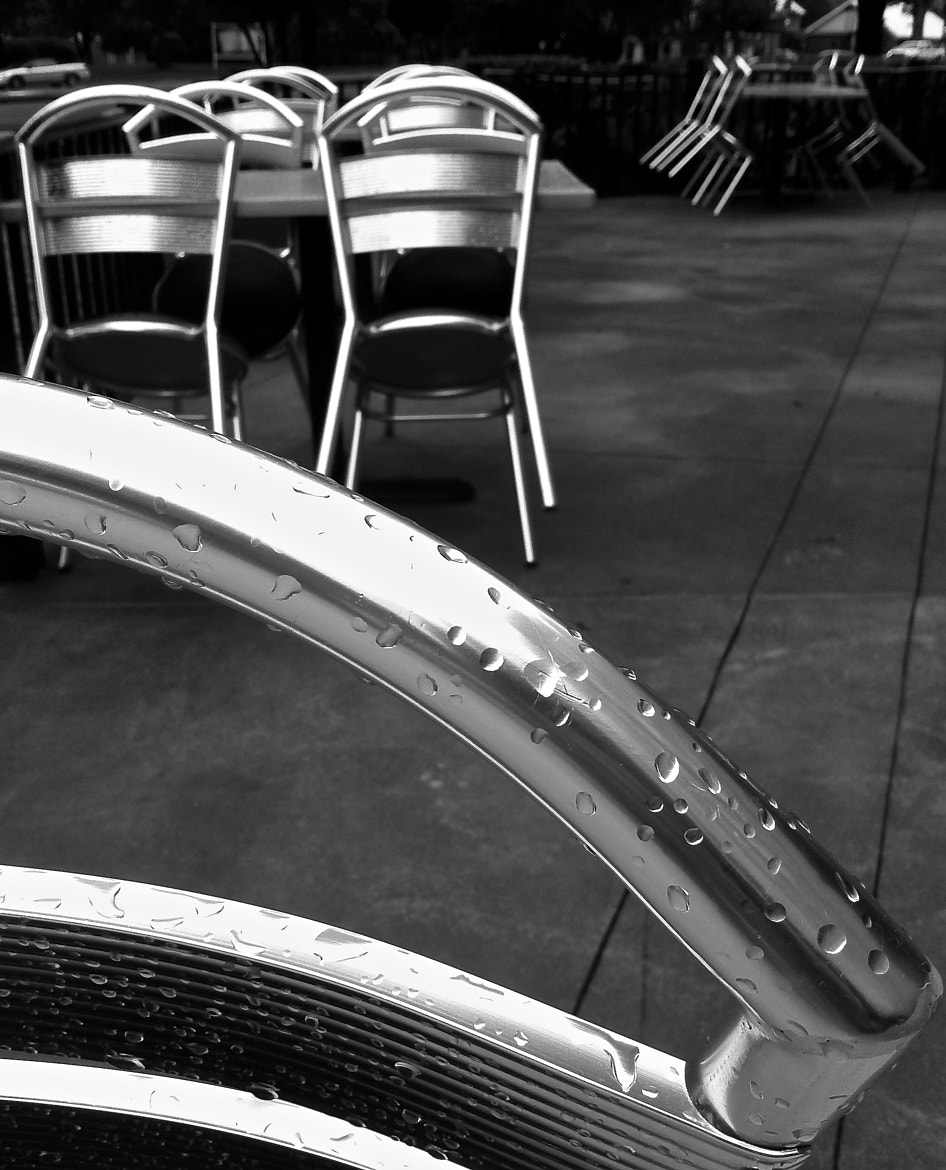 Photograph chair wet by mike gibbons on 500px