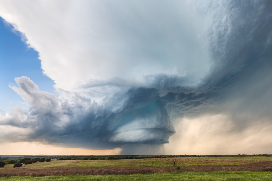 Photograph Hico Supercell // V3 by Kelly DeLay on 500px