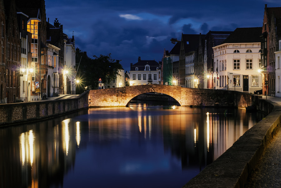 Photograph Bruges by night by Bojan Arsenović on 500px