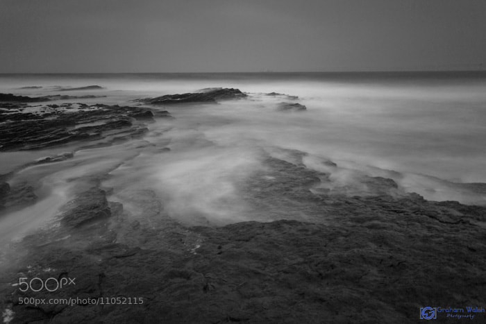 Photograph Stormy Waters B&W by Graham Walsh on 500px
