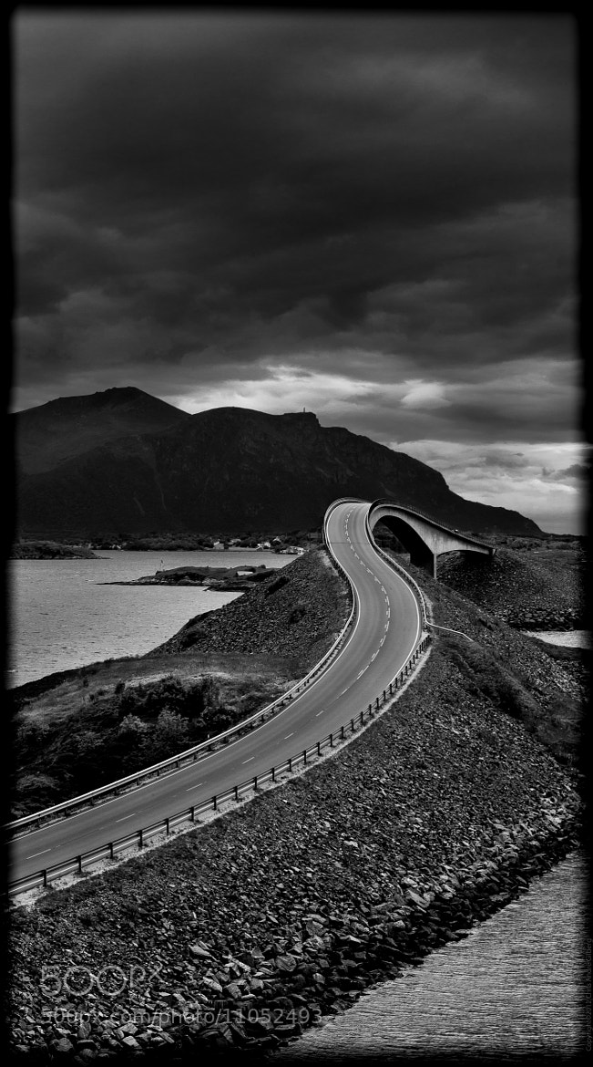 Photograph Atlantic Road by Chris André Gilberg on 500px