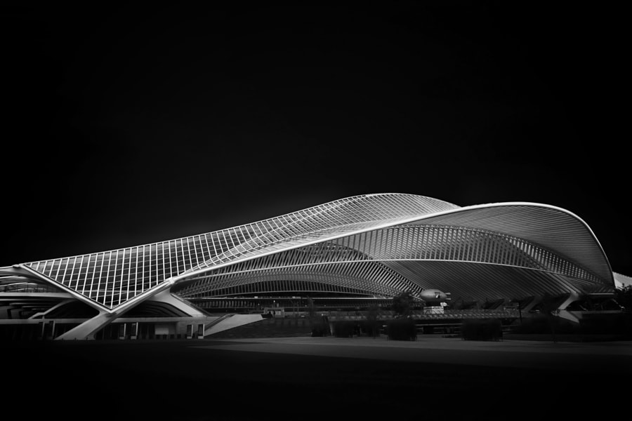 Photograph Guillemins Fine Art Project - II/III by Arnd Gottschalk on 500px