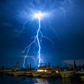 Lightning Boats by Jamie Betts Photo (jamiebettsphoto)) on 500px.com