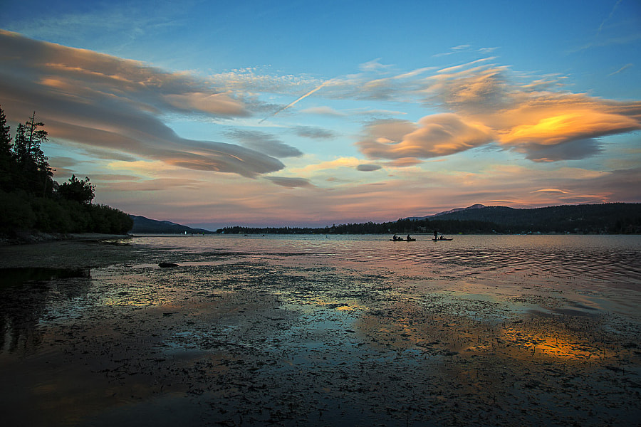 Photograph Out For An Evening Paddle by Wesley Kridle on 500px