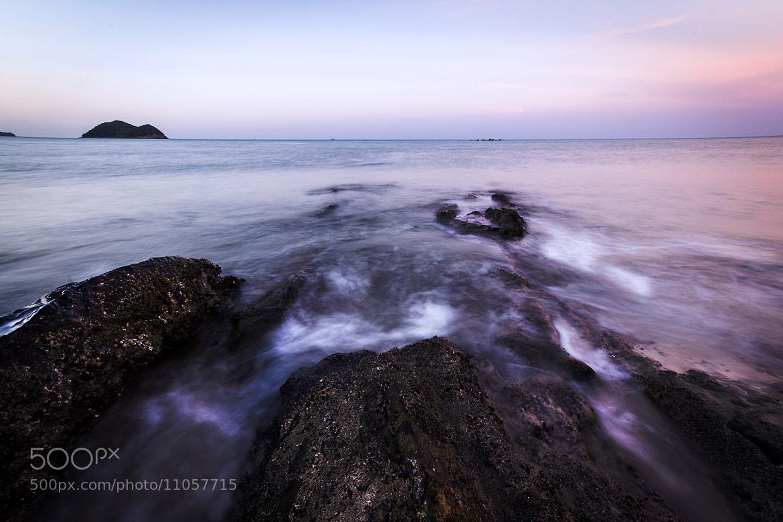 Photograph Rock & The Sea by Tachanon Watana-a-mornkiat on 500px
