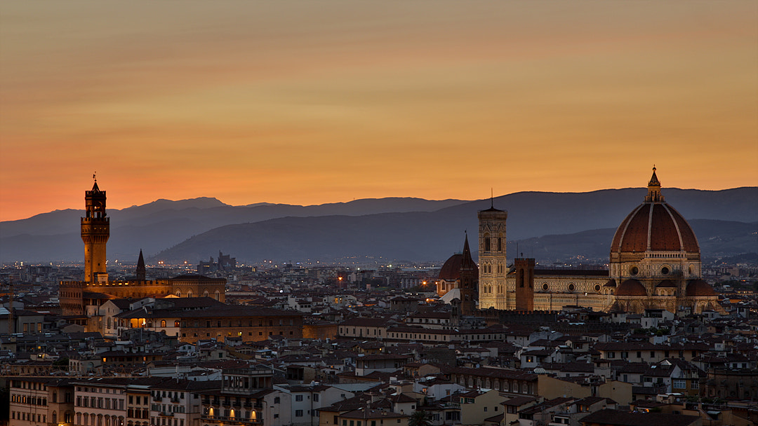 Photograph Night view of Firenze by JeongHeon Son on 500px