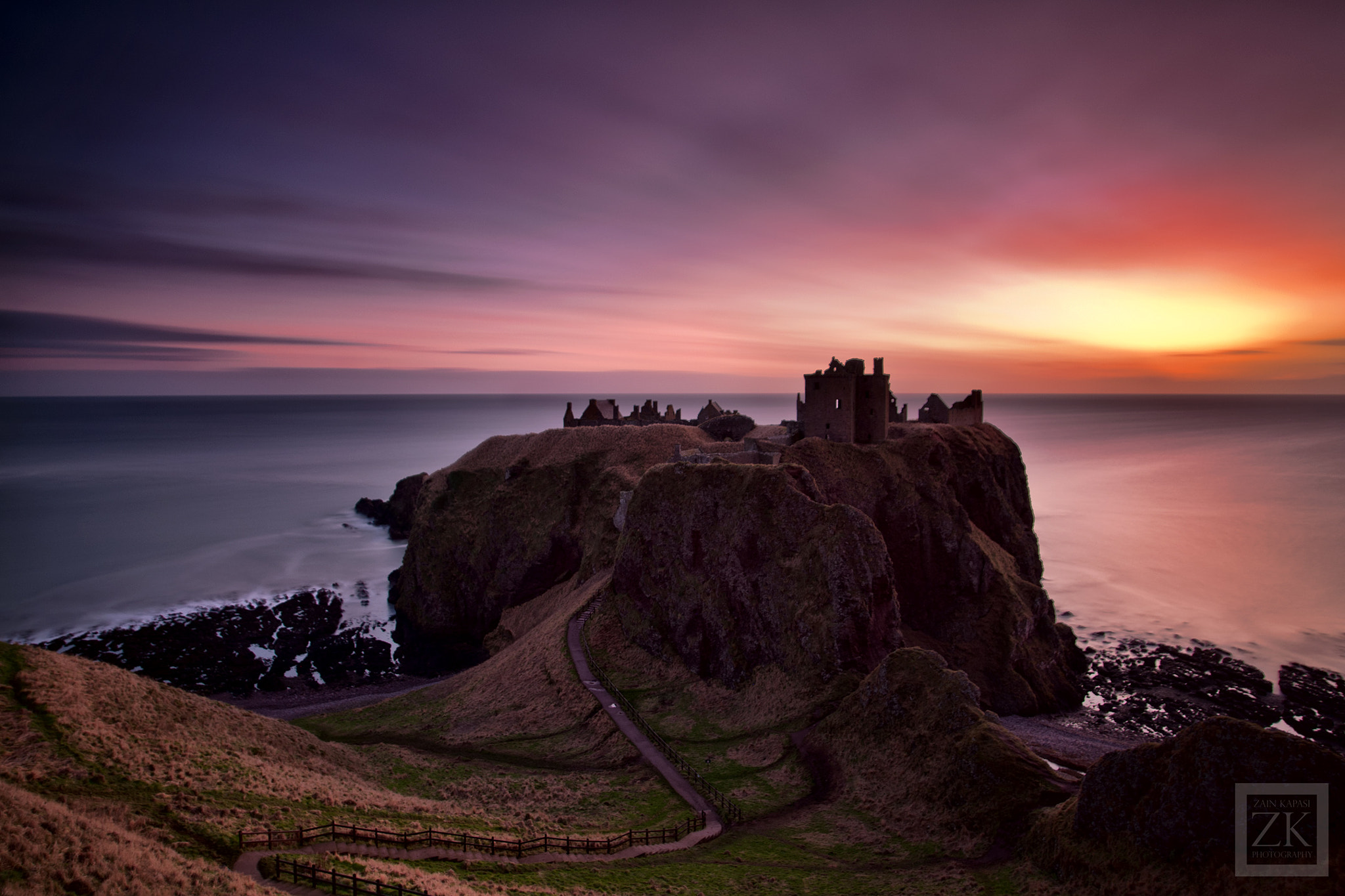 Photograph Dunnottar Castle by Zain Kapasi on 500px