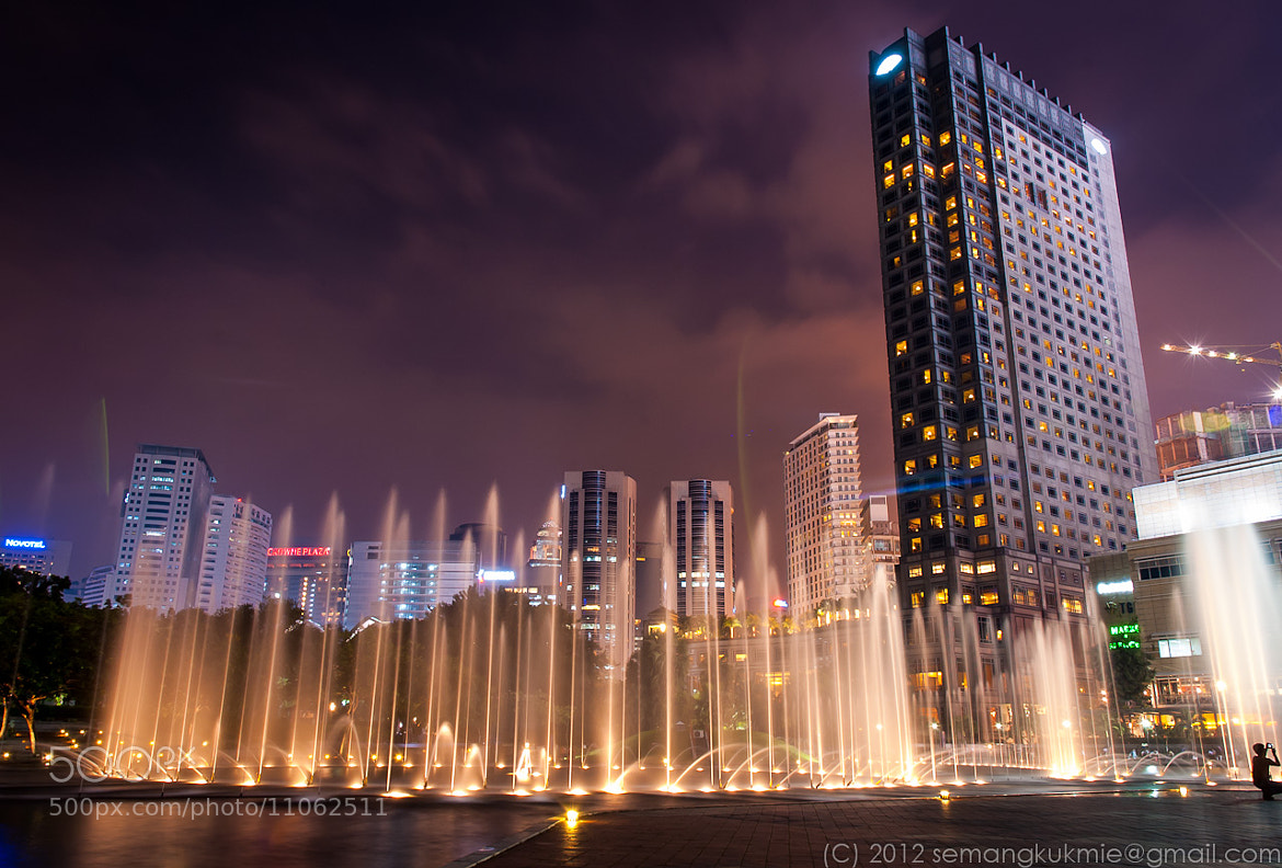 Photograph Dancing fountain by Ricky S on 500px