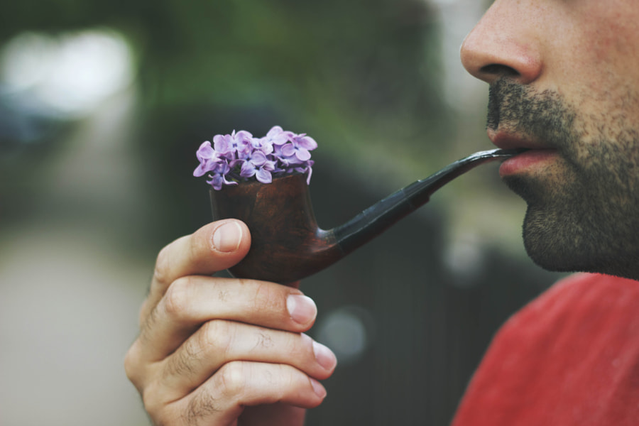 Man with a pipe by Jovana Rikalo on 500px.com