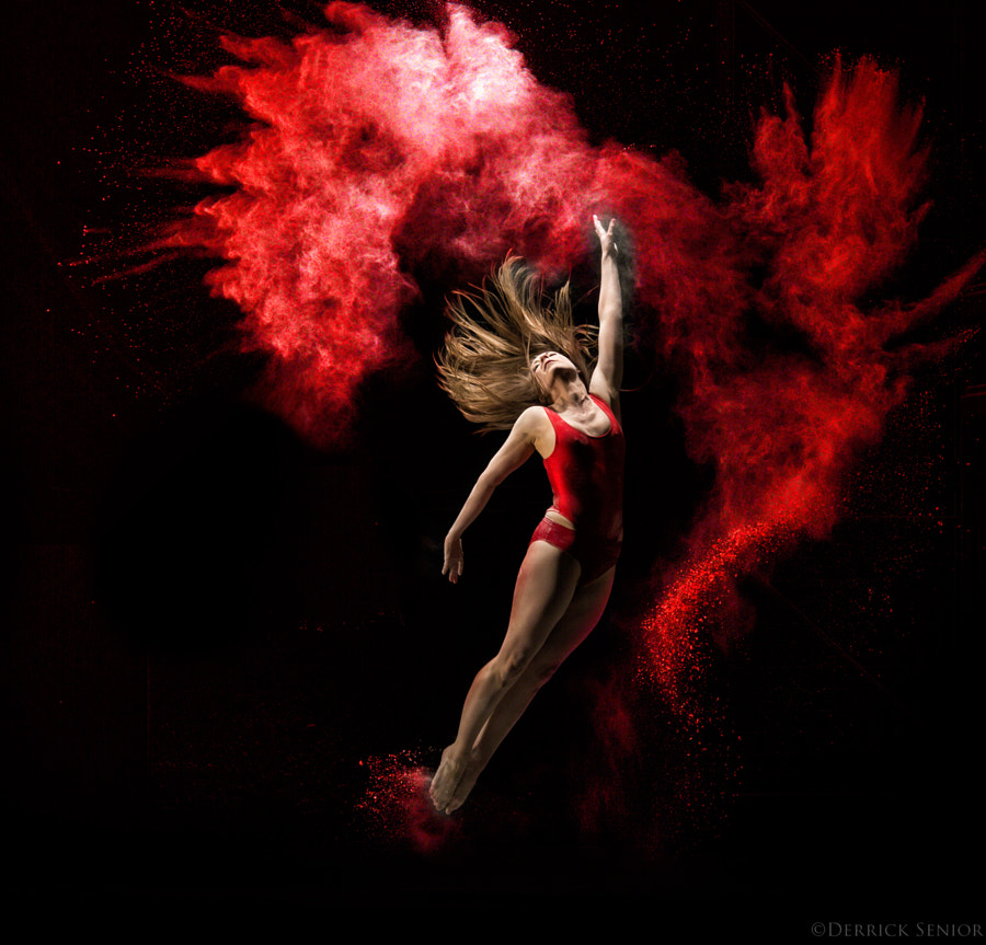 Photograph Red Bombshell by Derrick Senior on 500px