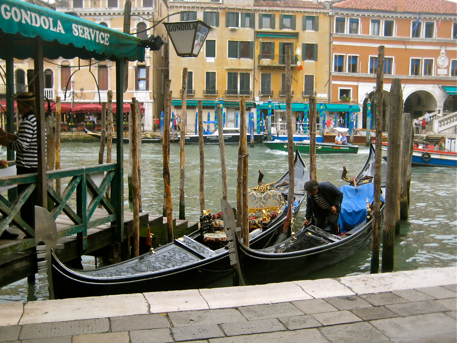 Photograph Venice Gondola for hire  by John Krause on 500px