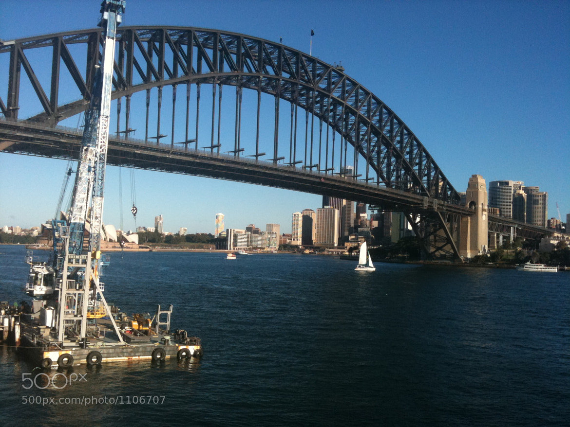Photograph Sydney Harbour Bridge by Alex Gleichauf on 500px