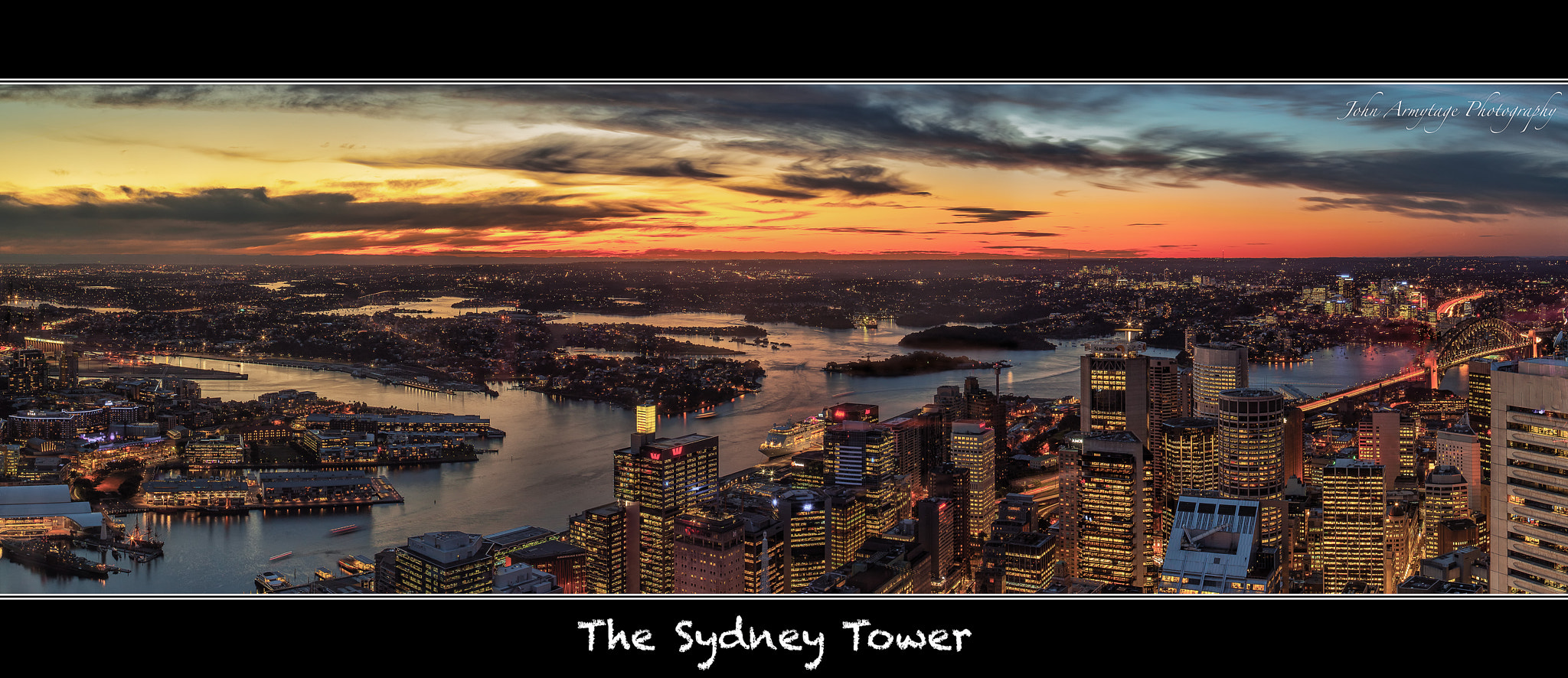 Photograph The Sydney Tower - View by John Armytage on 500px