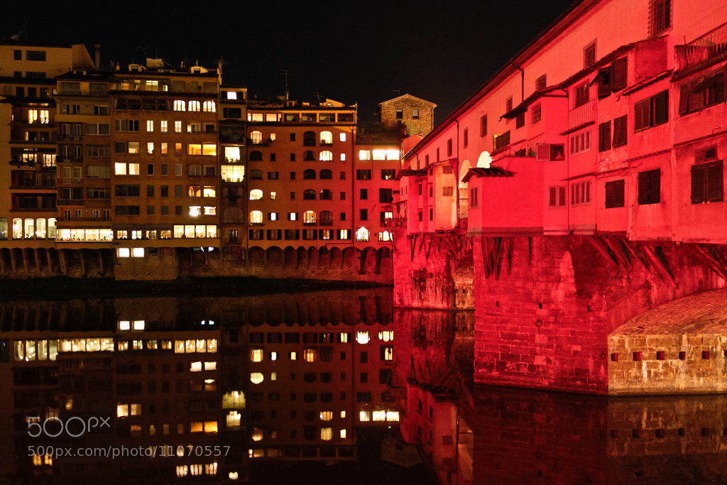 Photograph Ponte Vecchio, Florence by Federico Paoli on 500px