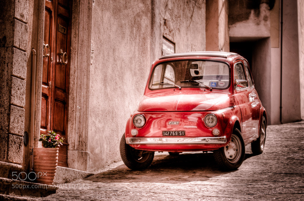 Photograph Fiat in Tuscany by Stuart Crawford on 500px