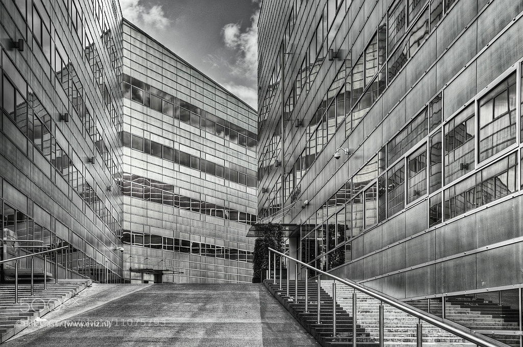 Photograph UWV Building II by Erik Visser on 500px