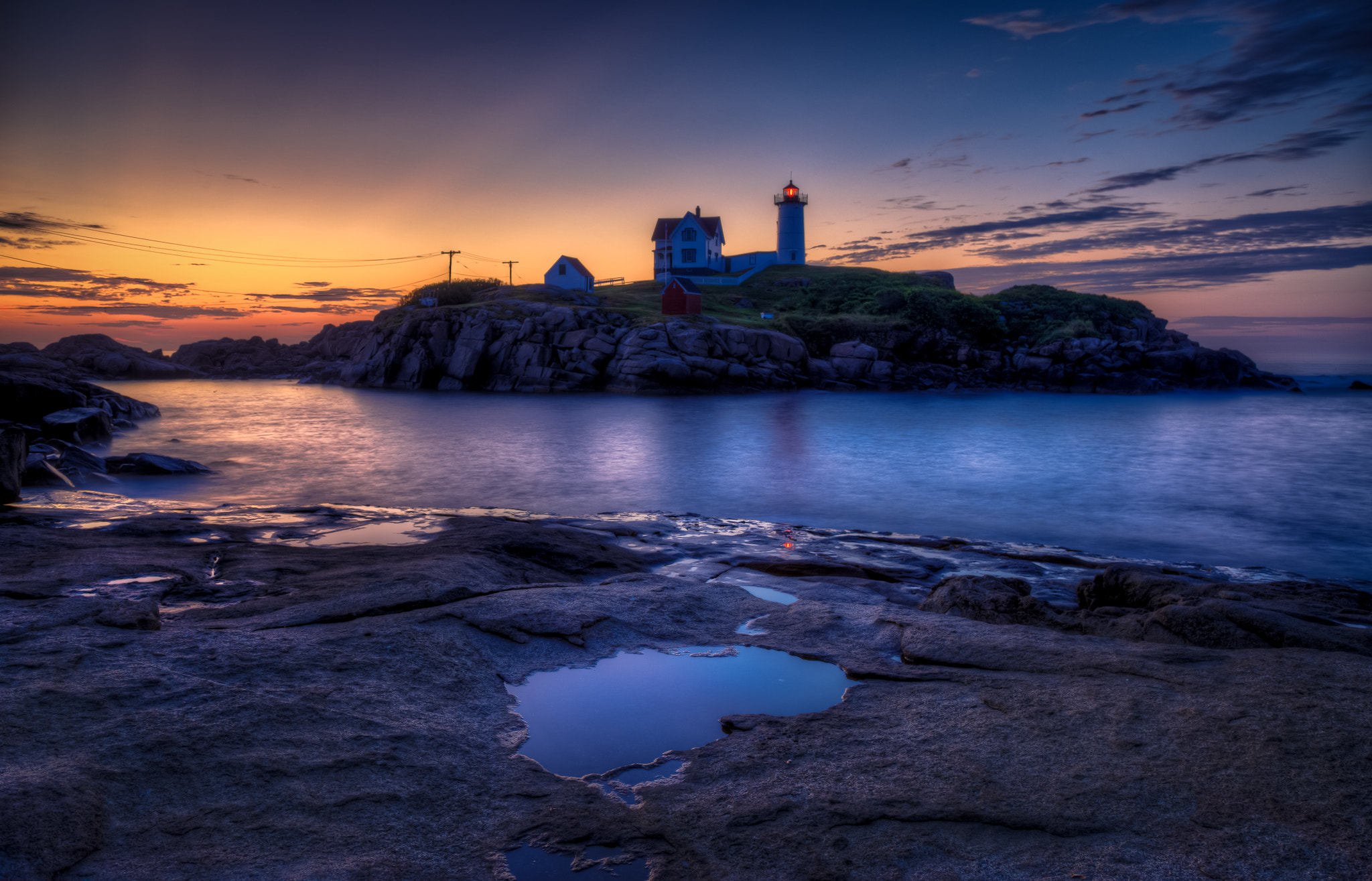 Photograph Nubble Lighthouse by Dave Wright on 500px