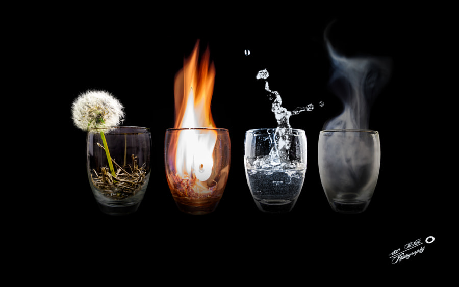 4 Elements by Daniel Sellmann on 500px.com