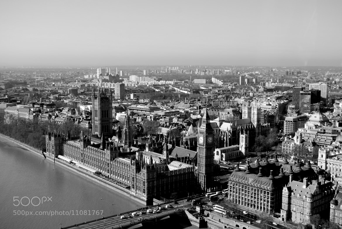 Photograph The visible from the London-Eye by Pia Pru on 500px