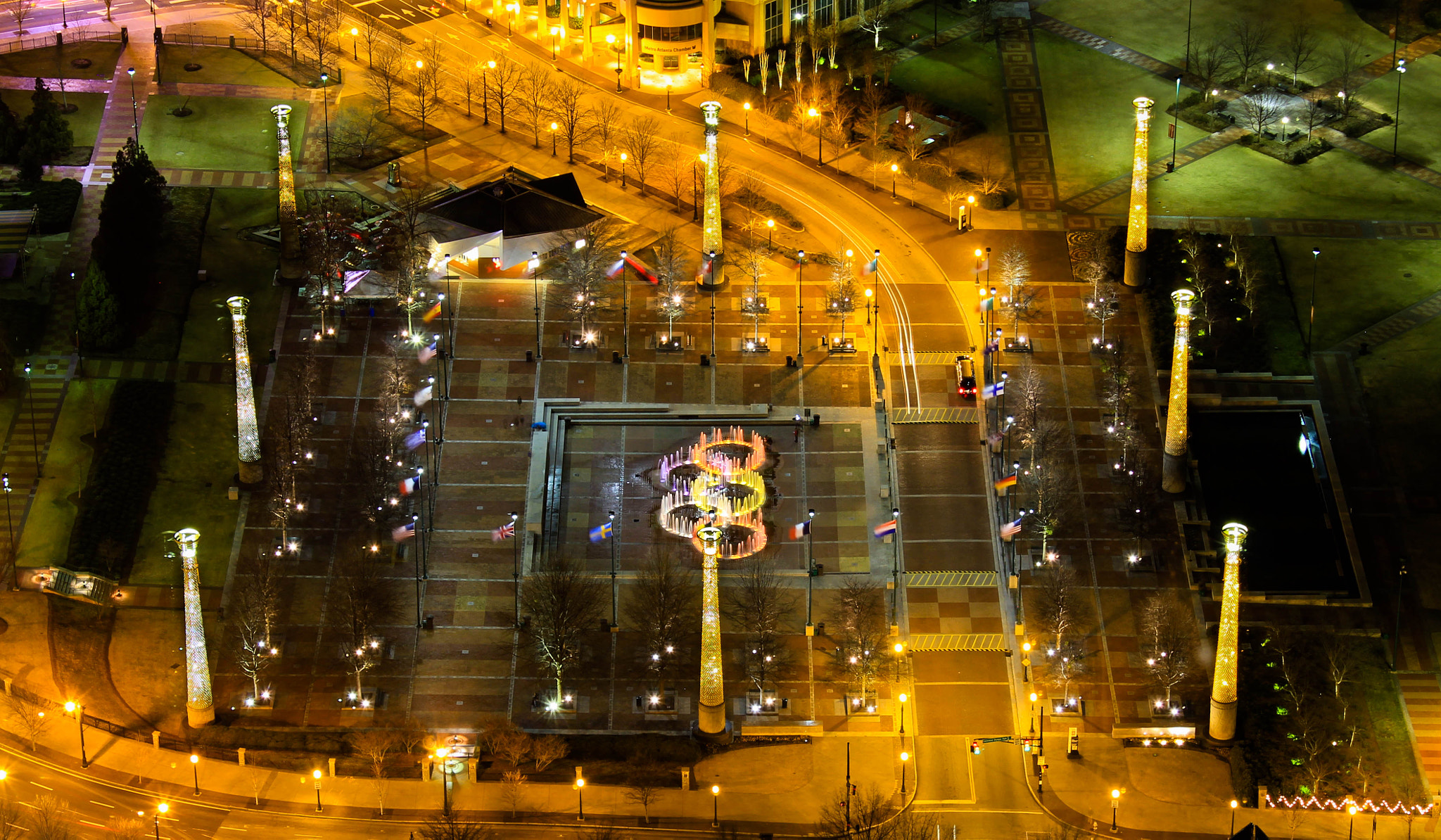 Photograph Centennial Olympic Park from above by Rajesh Gunasekaran on 500px