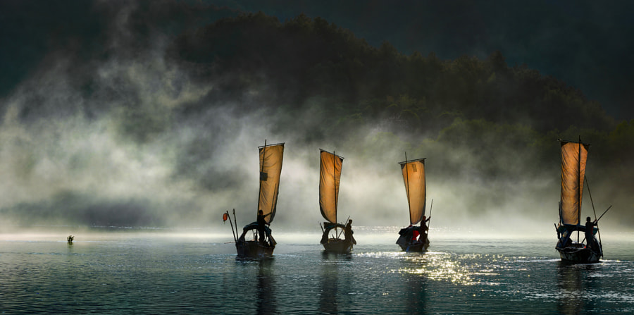 Photograph The smugglers of the mist by Thierry Bornier on 500px