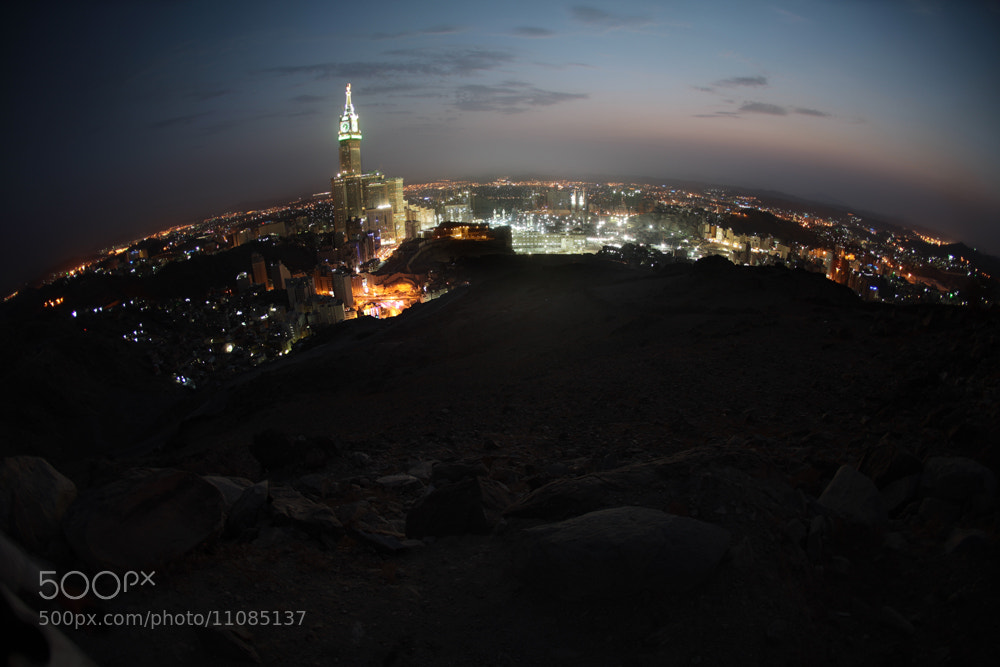 Photograph Holy Makkah II by Ammar meer al amir on 500px