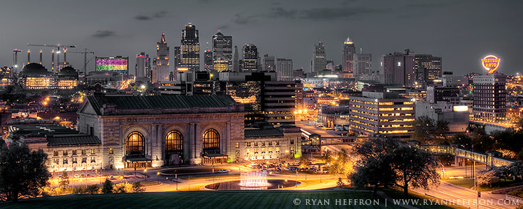 Photograph Kansas City Skyline by Ryan Heffron on 500px